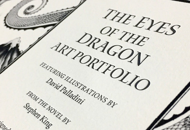 Portfolio de The Eyes of the Dragon