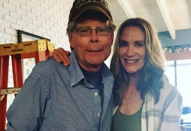 Stephen King y Kelly Lynch