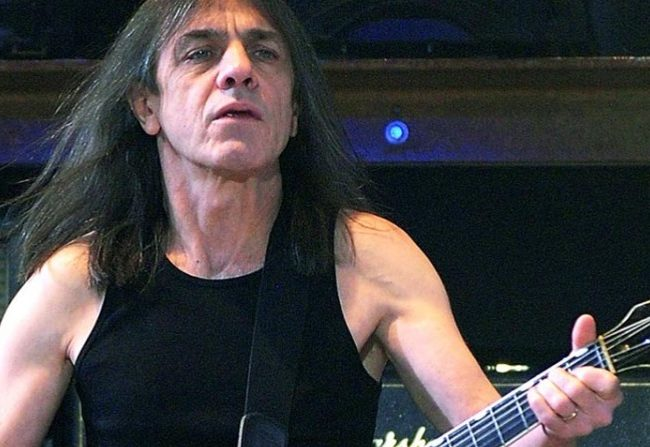 Adiós a Malcolm Young