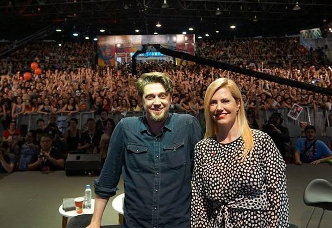 Andy y Barbara Muschietti en la Comic Con