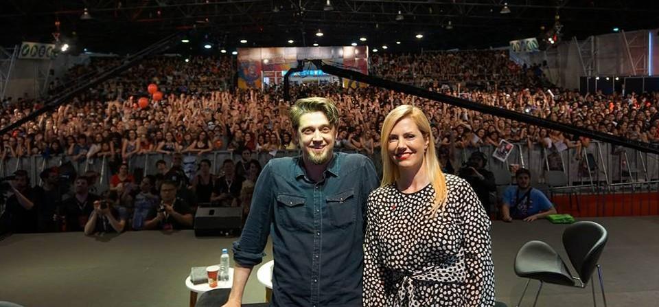 Andy y Barbara Muschietti en la Comic Con