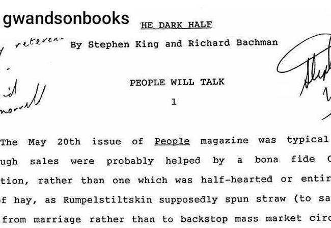 The Dark Half: La conexión Bachman