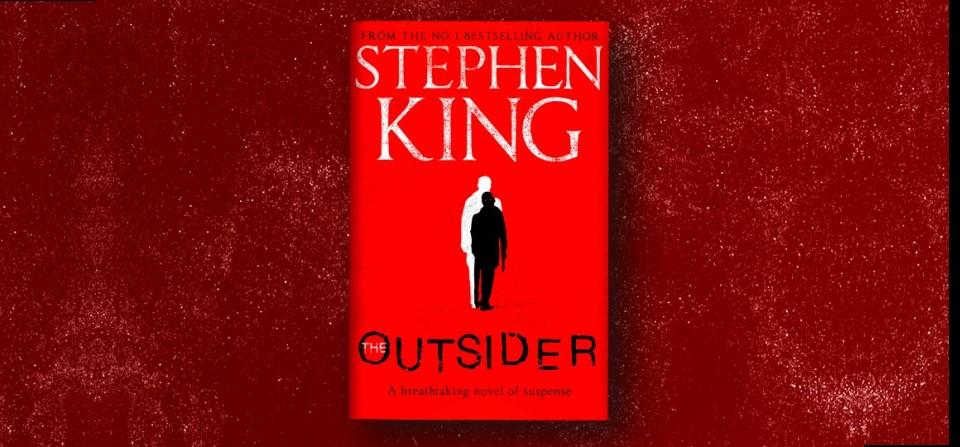 The Outsider: la portada inglesa